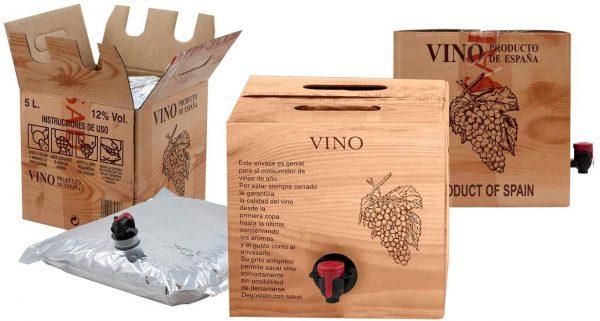 Bag in Box 5L Vino Blanco Cosechero Joven de Bodega Los Corzos
