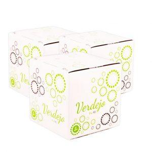 Lote 24 Bag in Box 5L Vino Blanco Verdejo Paz VI