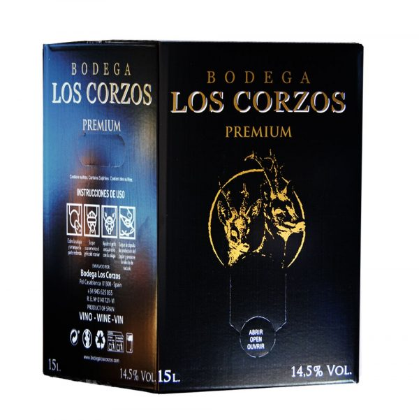 Bag in Box 15L Vino Tinto PREMIUM 14,5 % Vol