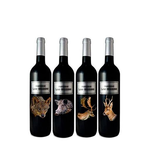 """Colección """"FAUNA IBERICA"""" Vino Tinto Caja Especial 8 Botellas de 750 ml"""
