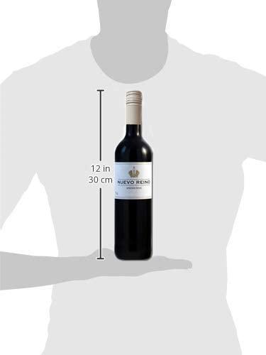 Vino Tinto Nuevo Reino Tapón de Rosca - 6 Botellas de 750 ml