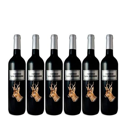Los Corzos PREMIUM Vino Tinto Vol 14.0% Botellas 6 x 750 ml