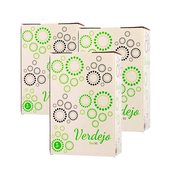 Lote Bag in Box 3L Vino Verdejo