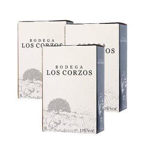 Lote Bag in Box 3L Vino Tinto Recomendado