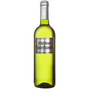 Vino blanco etiqueta metálica