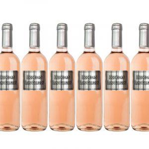 Vino clarete etiqueta metálica